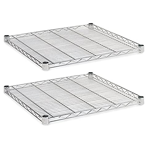 Alera Industrial Wire Shelving Extra Wire Shelves, 24 by 24-Inch
