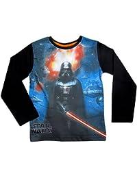 Star Wars Kollektion 2017 Langarmshirt 104 110 116 122 128 134 140 146 Ökotex 100 Jungen Neu Pullover Stromtrooper Darth Vader