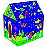 WonderKart Foldable Kids Play Tent House With Led Light - Multi
