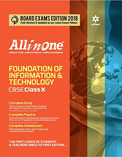 All in one Foundation of Information Technology Class 10th (Old Edition)