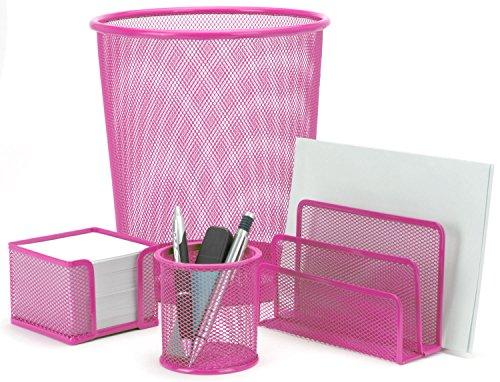Eliware 4 teiliges Büroset | Pink