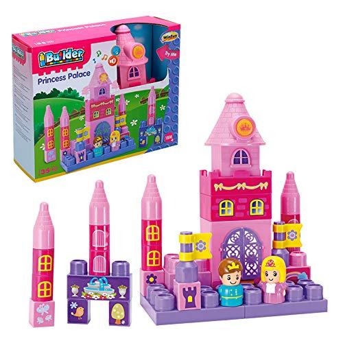 WinFun - Palacio de princesas con luz y sonido - 35 piezas (ColorBaby 44744)