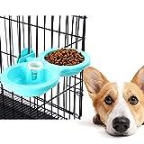 JIALI Gamelle Durable pour Animal Domestique, gamelle Amovible avec Support de...