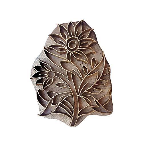 Fancy Handicraft Printing Stamps Or Blocks Brass for Clay Desiging,Pottery Designing, Textile Print,Butique Print,Saree Salwar Suit Dupatta Border Making etc (PBS1191)