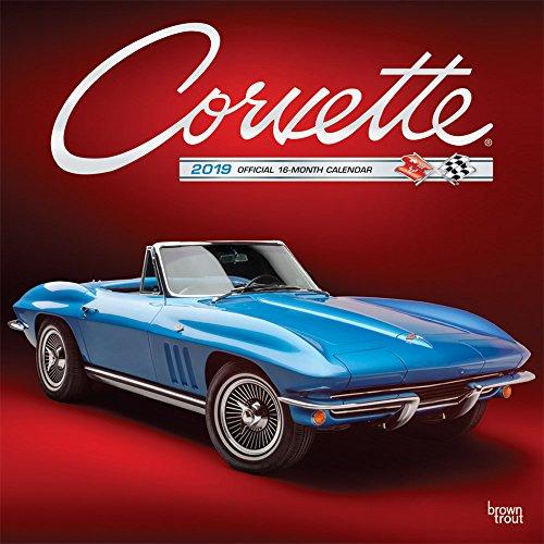 Corvette 2019 Calendar par Inc. Browntrout Publishers