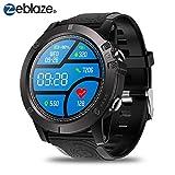 Zeblaze Vibe 3 Pro Smartwatch IP67 Wasserdicht Fitness Tracker Pulsmesser Schlafmonitor Touchscreen Smart Watch für Herren Damen Running Swinmming Sports für iOS Android