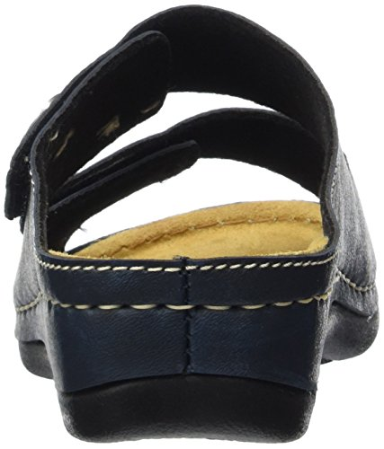 Vista 69-608 Damen Pantoletten Blau (Blau)