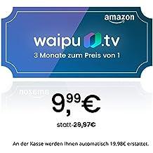 waipu.tv - Gutscheincode | TV-App für Fire TV und Smartphone | 3 Monate zum Preis von 1 | Digitaler Versand