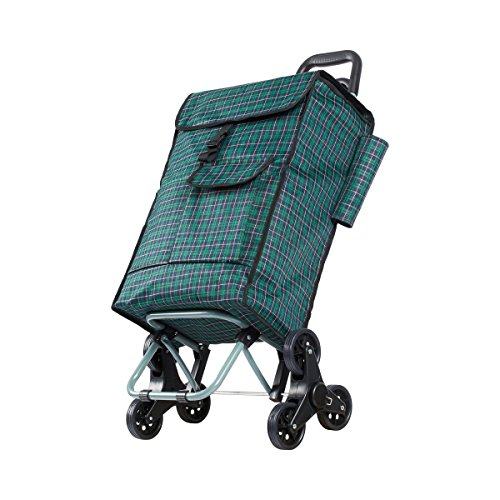 Maxi-Einkaufsroller Trolley fahrbare Tasche Einkaufstasche Rolltasche Einkaufshilfe Shopping Reisetasche (Fahrbare Kiste)