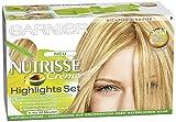 Garnier Nutrisse Creme Highlights Set 1 für helle Strähnchen, 3er Pack