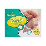 Pampers - Pannolini New Baby, taglia 0 (1-2,5 kg), 6 confezioni da 24