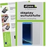 dipos I 2X Schutzfolie matt passend für Bluboo S8+ Folie Bildschirmschutzfolie