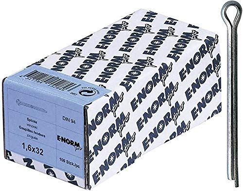 Preisvergleich Produktbild Format 4317784152921 - St galZn DIN 94 4 x 40 HP Sechskantmuttern