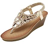 Minetom Donne Elegante Sandali Estate Peep Toe Pantofole - Best Reviews Guide