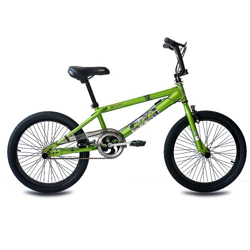 20-BMX-KIDS-BIKE-BICYCLE-KCP-DOOM-360-ROTOR-FREESTYLE-green-g-508-cm-20-inch