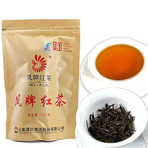 China Grünes Lebensmittel Neue Ankunft Yunnan Dianhong Tee Feng Marke Schwarztee 125g Klasse 1 Dianhong Gruppe schwarzer Tee Roter Tee