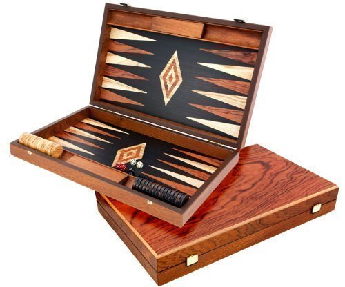 Manopoulos Luxury Baduk And Maple Backgammon Set by Manopoulos
