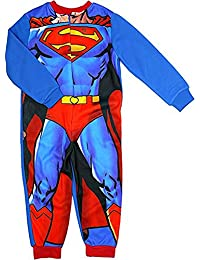 Superman DC Comics - Pijama de forro polar suave para niño