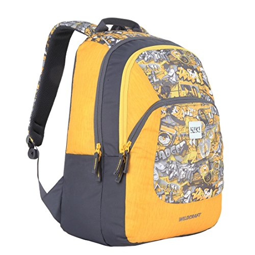 ca5bc544cc1a Wildcraft Polyester 31 Ltrs Yellow School Backpack (Wiki 3 Punk 1 ...