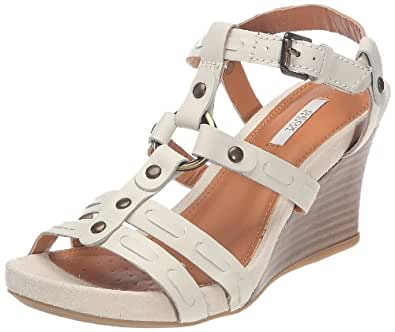 geox donna iride d22u2z00043c1000 damen sandalen fashion sandalen weiss white c1000 eu 39. Black Bedroom Furniture Sets. Home Design Ideas