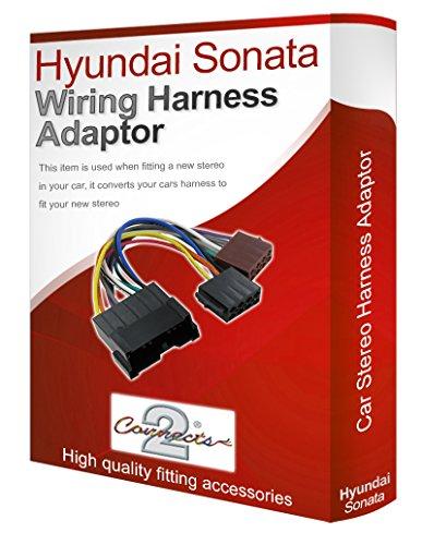 Hyundai Sonata CD radio stereo loom ISO Kabelbaum adapter Kabel Konverter (Hyundai Kabelbaum Sonata)