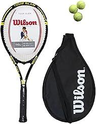 Raqueta de tenis Wilson Tour Slam + + 3 pelotas £60 cubierta G