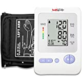 Healthgenie BP Monitor Digital Upper Arm BPM 02, With Irregular Heart Beat Indicator And Adaptor - 24 MONTHS WARRANTY