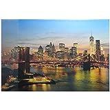 68x44cm Schreibtischunterlage Gr/ö/ße New York