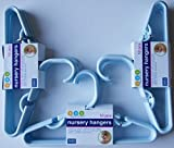Delta Blue Nursery Hangers 10 Pack - For...