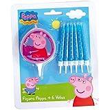 Peppa Pig - Velas (Verbetena 5652507)