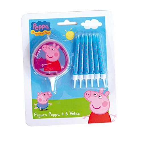Peppa Pig–Bougies (Verbetena 5652507) 5055446787164