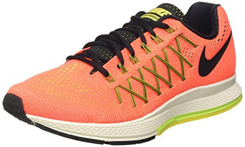 Nike wmns air zoom pegasus 32, scarpe da ginnastica, donna, arancione (hyper orange/blk-vlt-opt yllw), 37.5