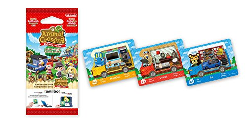 "Amiibo-Karten zu ""Animal Crossing: New Leaf"" (3 Stück) - 2"