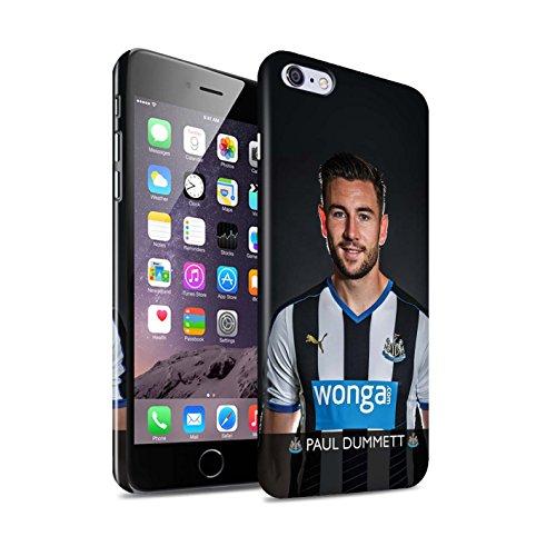 Officiel Newcastle United FC Coque / Clipser Brillant Etui pour Apple iPhone 6+/Plus 5.5 / Pack 25pcs Design / NUFC Joueur Football 15/16 Collection Dummett