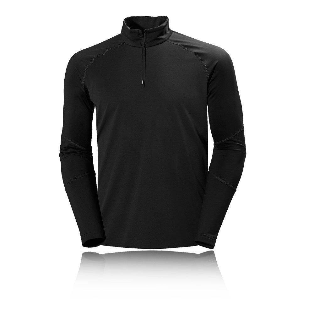 Helly Hansen Herren Sweatshirt Phantom 1/2 Zip Midlayer, Schwarz, M, 51760