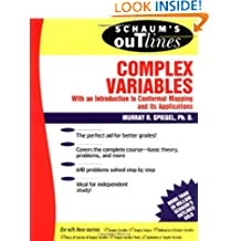 Schaum's Outline of Complex Variables (Schaum's Outline Series)
