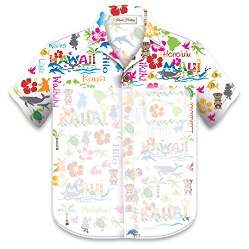 15d4366d33 Aloha Shirt Notepad with Magnet  Hawaiian Adventures by Welcome to the  Islands