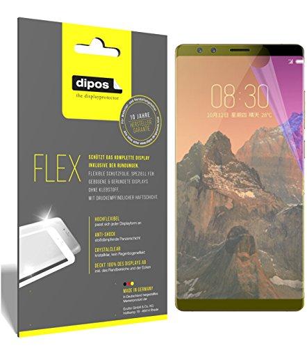 dipos I 3X Schutzfolie 100prozent passend für ZTE Nubia Z17S Folie (Vollständige Bildschirmabdeckung) Bildschirmschutzfolie