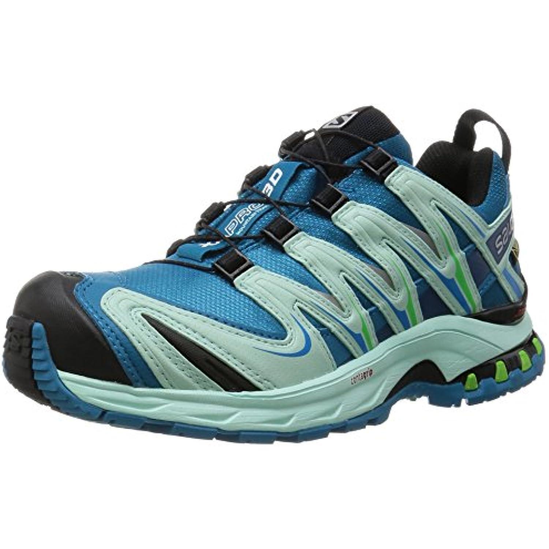 Salomon - Xa Pro 3D Trail Gtx® - Chaussures de Trail 3D - Chaussure s - femme - Bleu (Fog Blue/Igloo Blue/Tonic Green) - 40 (... - B018RUGMC4 - d10a0a