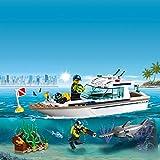 LEGO City - Le yacht de plongée - 60221 - Jeu de construction