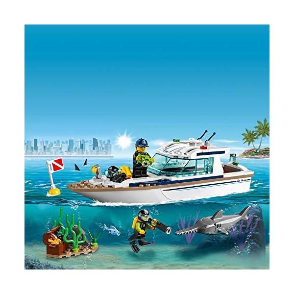 LEGO City - Yacht per immersioni, 60221 3 spesavip