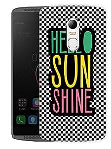 "Humor Gang Hello Sunshine GirlPrinted Designer Mobile Back Cover For ""Lenovo Vibe X3"" (3D, Matte Finish, Premium Quality, Protective Snap On Slim Hard Phone Case, Multi Color)"