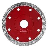 KSS 115mm Premium Trennscheibe - Extra Dünne Diamant Trennscheibe - Sägeblatt Fliese Feinsteinzeug - Segmenthöhe 10mm (4,5