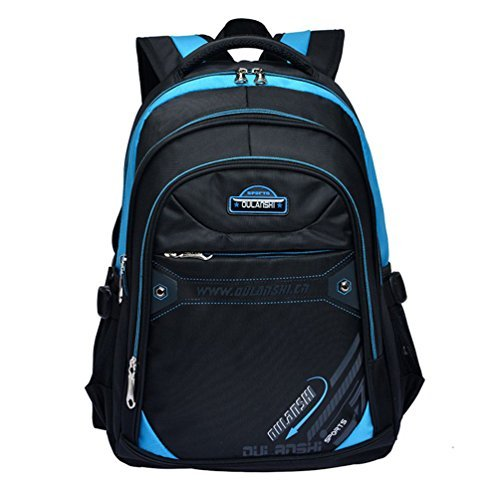 Matmo Casual Children Backpack Kids Book Bag For Elementary School Students Blue
