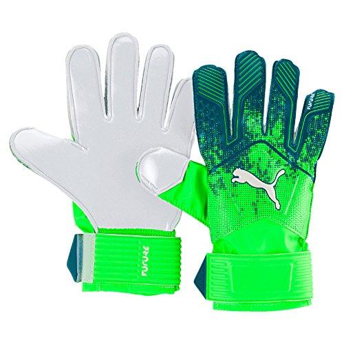 Puma Future Grip 18.4 Handschuhe Torwart, Green Gecko/Deep Lagoon White, 8