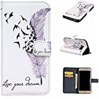 nancen Apple iPhone 5 C (4,0 pollici) Bookstyle Custodia Mignon stile disegno custodia cover di protezione in (Double Dragon Mobile)