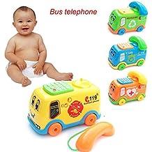 juguetes para niños Switchali 2017 Bebé Juguetes Música Dibujos animados Autobús Teléfono Educativo De desarrollo Niños Juguete Regalo Nuevo