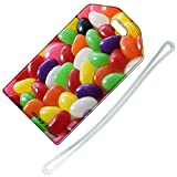 Stray Decor (Jelly Beans) Luggage Tag / Name & Address Travel ID Label