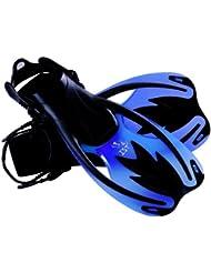 IST Sports FK09 - Juego de aleta para niño (talla 34-38) azul azul