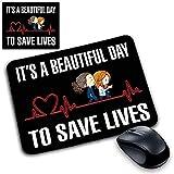 CSM Informatique Tapis Souris Pad Grey's Anatomy Beautiful Day Save Life Idée Cadeau x Docteur